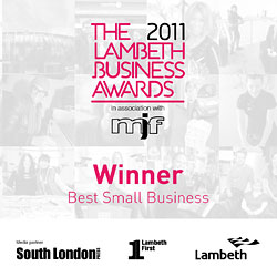 Winner - Best Small Business 2011
