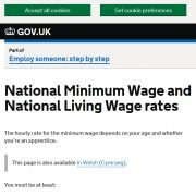 National Minimum Wage for Interns