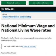 National Minimum Wage for Interns
